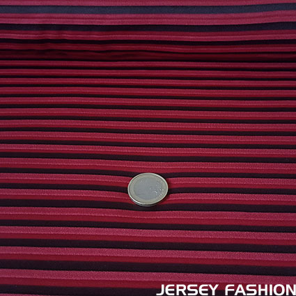 "Stretch pleated fabric ""Indira"" - La Maison Victor"