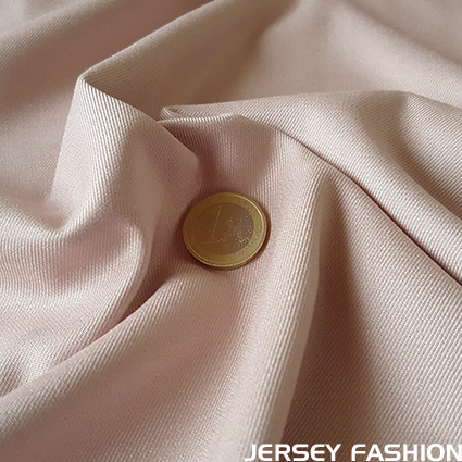 Stretch bamboo gabardine fabric - soft old rose