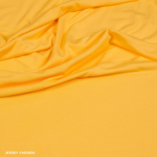Hilco viscose jersey sunflower yellow | Remnant piece 90cm
