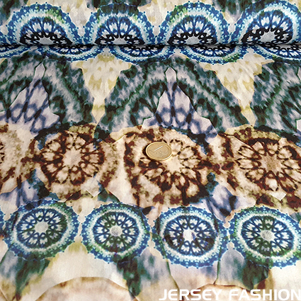"Woven cotton fabric ""Pino"" - Hilco"