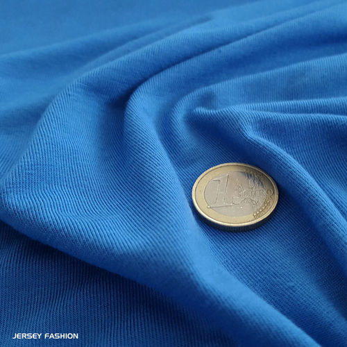 Bamboo jersey sapphire blue - Toptex | Remnant piece 110cm