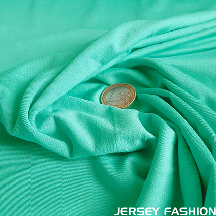 Bamboo jersey sea green
