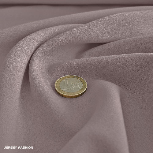 Fine stretch crepe mauve - Toptex | Coupon 55cm