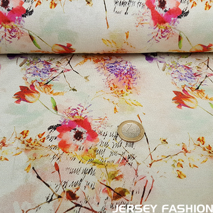"Inkjet viscose jersey fabric ""Dilley"""