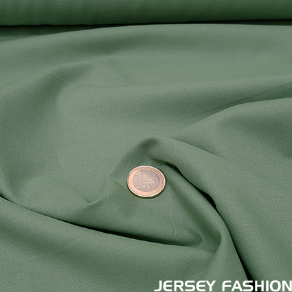 Organic cotton poplin pale green - Toptex