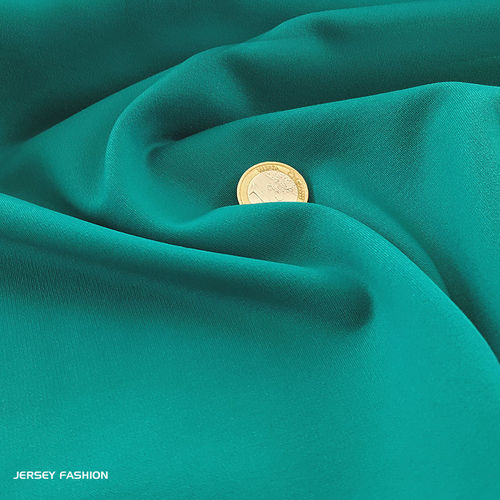 Heavy jersey turquoise green | Remnant piece 64cm