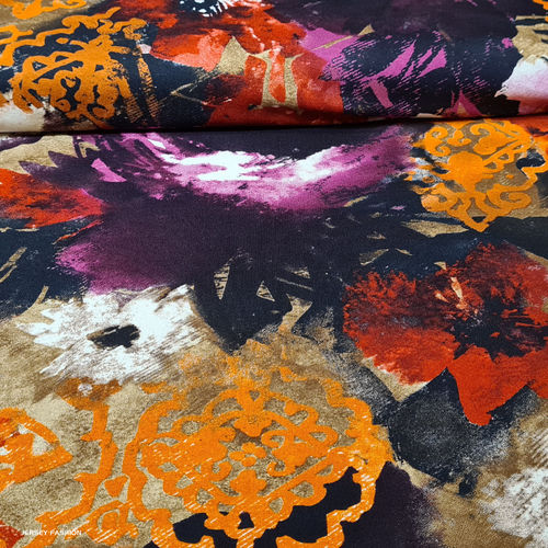 "Viscose jersey fabric ""Rubio"" 