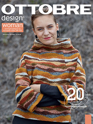Ottobre Design Woman Fall / Winter 2020-5 pattern magazine (Dutch)
