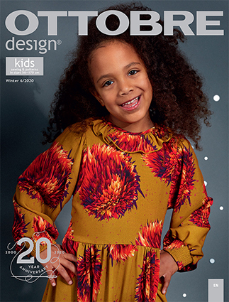 Ottobre kid's winter 2020-6 pattern magazine (Dutch issue)