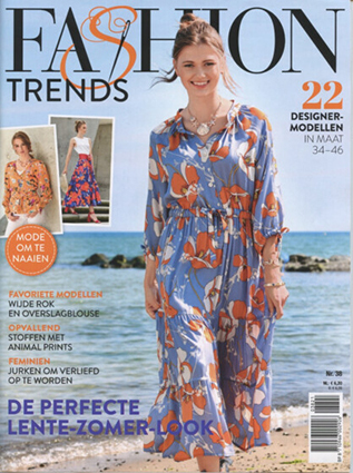 Fashion Trends 2021-LZ (NL / BE) | Mode om te naaien (Dutch issue)