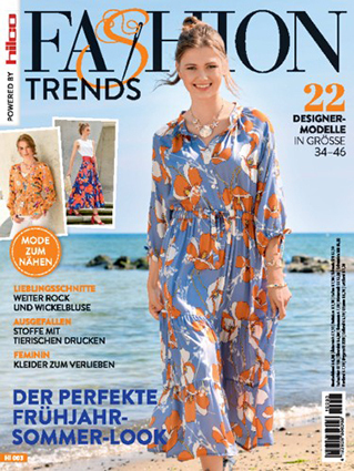Fashion Trends 2021-HI 003 FS (DE) | Mode zum nähen (German issue)