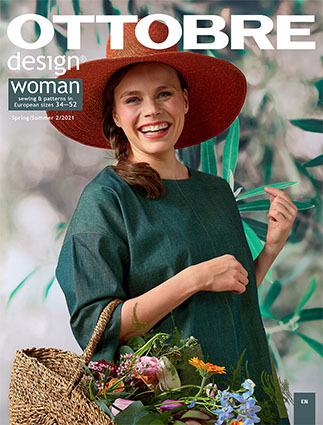 Ottobre Design Femme Printemps / Été 2021-2 pattern magazine (French)