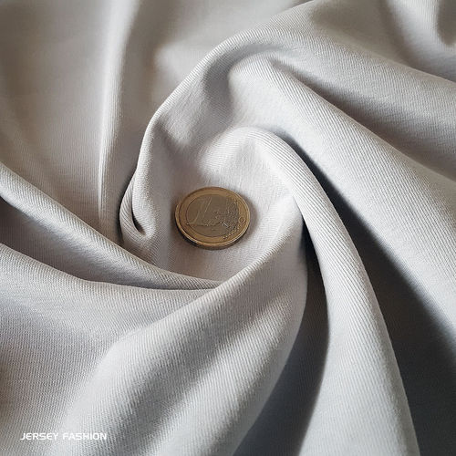 Cotton jersey light grey - Toptex | Remnant piece 108cm