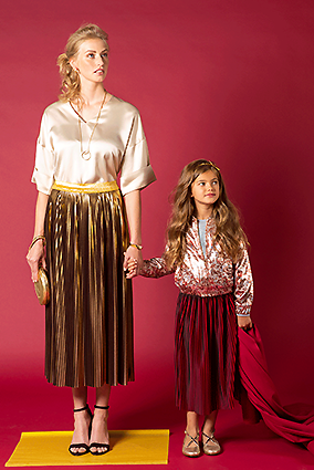 La Maison Victor | Plaited skirts Allegra