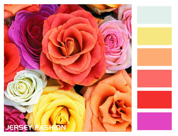 Colour palettes to inspire your ideas
