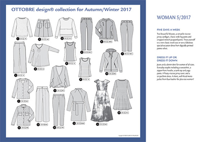Ottobre Design Woman | 2017-5 Overview