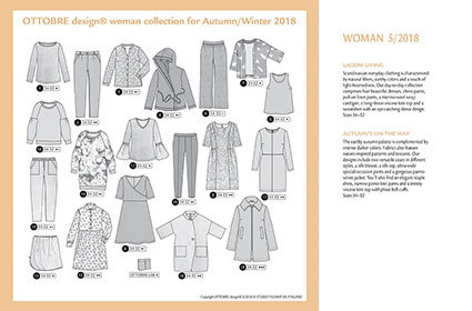 Ottobre Design Woman | 2018-5 Models
