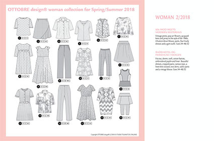 Ottobre Design Woman | 2018-2 (NL-BE)
