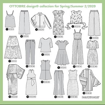 Ottobre Design Woman 2020 Lente Zomer