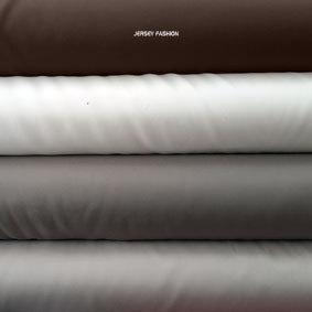 Stretch lining | Plain lining fabrics | dark brown - wool white - light taupe - light beige